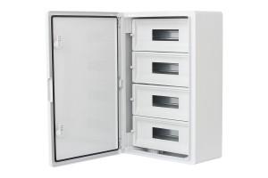 Шкаф ударопрочный модульный ABS 400x600x200, 15x4 модулей, IP65