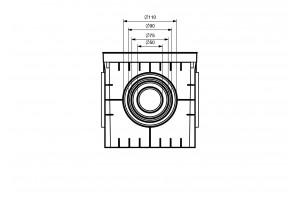 Колодец кабельный 200x200x200, IP54