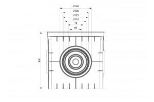 Колодец кабельный 300x300x300, IP54