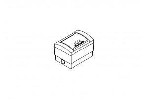 Корпус пластиковый 2-модульный навесной