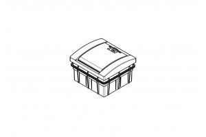 Корпус пластиковый 4-модульный встроенный