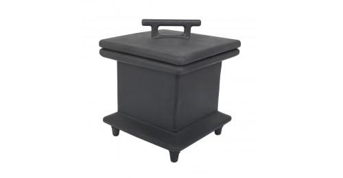 420x420x500 Бокс портативный под комбинацию розеток, (пустой) (черный), IP67