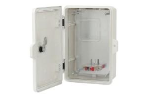 Шкаф для счетчика PES 210x320x130, IP65