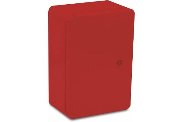 Шафа удароміцна червона ABS 200X300X130, МП