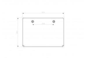 Шкаф ударопрочный ABS 350x500x190 МП с прозрачной Дверцей
