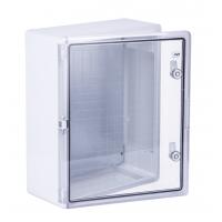 Шкаф ударопрочный ABS 400x500x180 МП с прозрачной Дверцей