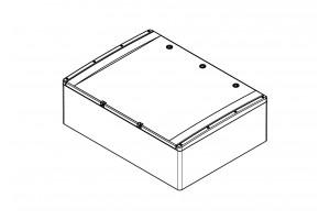 Шкаф ударопрочный ABS 600x800x260 МП