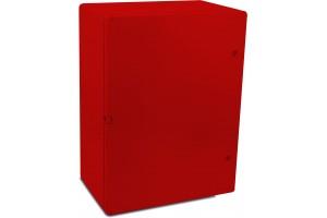 Шкаф ударопрочный красный ABS 500x700x250 МП