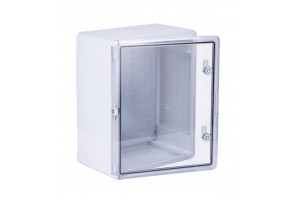 Шкаф ударопрочный ABS400X500X240 МП,с прозрачной дверцей